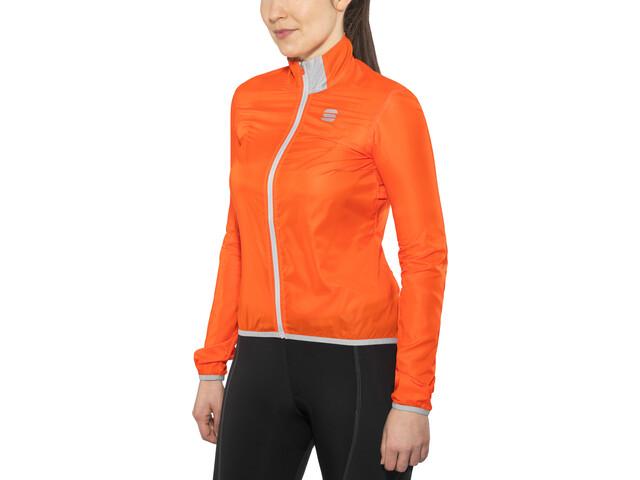 76d93998 Sportful Hot Pack Easylight Sykkeljakke Dame Orange | Gode tilbud ...